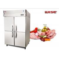 European Standard Commercial Refrigerator Freezer Built In Fan Cooling System Manufactures