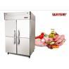European Standard Commercial Refrigerator Freezer Built In Fan Cooling System Manufactures
