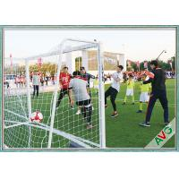 Professional 7 / 5 / 3 / 11 Man Aluminium Soccer Goal Long Lifetime Manufactures