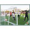 Buy cheap Professional 7 / 5 / 3 / 11 Man Aluminium Soccer Goal Long Lifetime from wholesalers