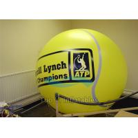 Quality Customized Color Advertising Helium Sphere Branding Balloons Fire Resistant for sale