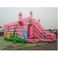 Customized Colorful Inflatable Sports Games , Funny Bouncy Jumping Castles Manufactures