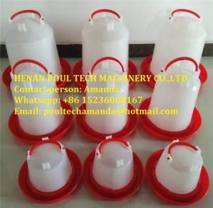 Livestock Farming White Plastic Chicken Waterer & Chicken Drinker & Day Old Chicken Drinker Manufactures