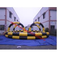 Inflatable air track air race track inflatable go carts track Manufactures