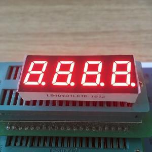 0.4 Inch Multi Color 7 Segment Display Common Cathode Temperature Indicator Applied Manufactures
