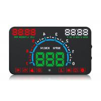 12V Dc / 400mA Heads Up Car Display E300 Display Alarm Not Glare For Driving Safety Manufactures