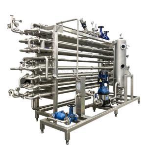 Mango Pulp 10000LPH Fruit Juice Pasteurization Machine Manufactures