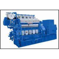 500-5000kw Middle Speed 500 / 600 / 750 rpm Generator Set , Diesel Generating Set CCS NK BV Approved Manufactures