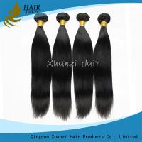 Buy cheap 7A Straight Weave Indian Virgin Hair Extensions 20 Inch No Chemical No Smell from wholesalers