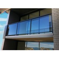 Quality Swimming Pool Exterior Aluminum Railings , Outdoor Aluminum Hand Railing for sale