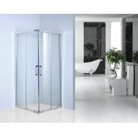 Italian Series Sliding Shower Enclosure 900 X 900 0.093 Volume With 100mm Adjustment Wall Profile Manufactures