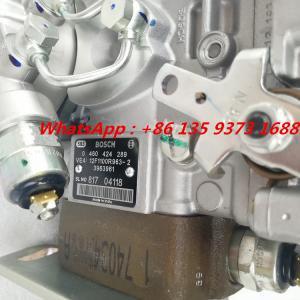 Genuine Cummins 4bt3.9 Engine Fuel Injection Pump 0460424289 3963961 3963962 Manufactures