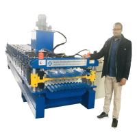 High Configuration Corrugated sheet / IBR Roof Panels Roll Forming Machine Manufactures