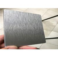 Corrosion Resistance Brushed Aluminum Sheet Metal Rust Resistance  Installation Convenient Manufactures