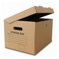Cardboard Archive Storage Corrugated Paper Packing Box Custom Print Manufactures
