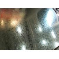Regular Spangle or zero Spangle  Hot Dipped Galvanized Steel Coil 0.2mm - 1.5mm Thickness Manufactures