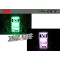 Bar Rechargeable Led Wine Display Cabinet With IR Remote Controller Switch Type Manufactures