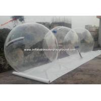 Outdoor Event Inflatable Water Zorb Walking Bubble Ball / Inflatable Rolling Ball Manufactures