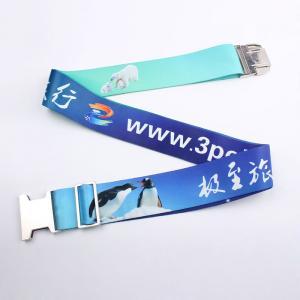 China Top sale luggage bag belt with adjustable buckle on sale