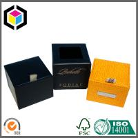 Luxury Paper Gift Box with Custom LOGO Gold Foil Print Manufactures
