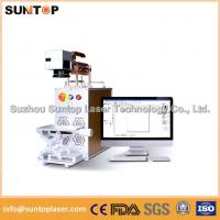 Metal Laser Marking Machine mini size  for auto Parts and hardware Manufactures