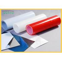 Durable Black And White Stainless Steel Protective Film Self Adhesion Anti Scratch Manufactures