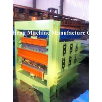 Two Molds Curving 6m Hydraulic Crimping / Bending Machine Double Layer Manufactures