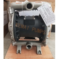 China stainless steel pneumatic double diaphragm pump for sulfuric acid - Stainless steel diaphragm pump on sale