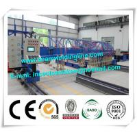 CNC H Beam Production Line Plasma And Flame Cutting Machine with numerical control system Manufactures