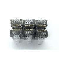 With a Hole Front Shielded RJ45 Modular Plug FTP CAT6 8P8C Ethernet Connector Manufactures