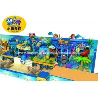 Customized Children Indoor Playground Equipment Soft Play In Ocean Style Manufactures