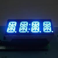 7 Segment 4 Digit Alphanumeric LED Display High Brightness For Instrument Panel Manufactures