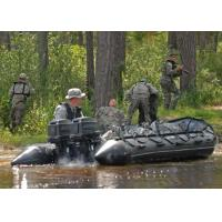 Heavy Duty Military Inflatable Boats 5 Person Aluminum Floor Inflatable Boat Manufactures