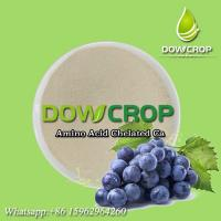 DOWCROP WATER SOLUBLE FERTILIZER AMINO ACID CHELATED CALCIUM HOT SALE HIGH QUALITY MILK YELLOW POWDER ORGANIC FERTILIZER Manufactures