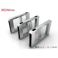 Stainless Steel Access Control Turnstile Gate DC Servo Motor With RFID Card Reader Manufactures
