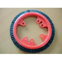 Quality Customized Plastic Monforts Stenter Brushes 3 Rows Inner Diameter 7cm for sale