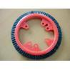 Buy cheap Customized Plastic Monforts Stenter Brushes 3 Rows Inner Diameter 7cm from wholesalers