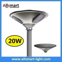 New 20W 2000lm UFO Solar Garden Lights All In One Parking Lot Lamp Solar Energy Products With 40W Solar Panel Aluminum Manufactures