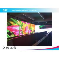 China 1000 Nits Brightness Indoor LED Display Board2K Super Clear Paper Thin Video Wall on sale
