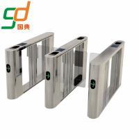 High Intelligent Automatic Swing Barrier Gate Bi-Directional Pedestrian Turnstile Manufactures