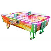 China Air hockey (L Size, Curved Table ) Air Hockey 2 Players Coin Operated Machine / Ticket Redemption Games on sale
