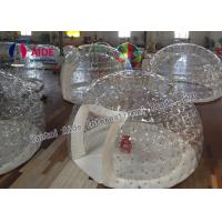 Customized Inflatable Event Tent Strong 0.8mm PVC Clear Bubble Tent Manufactures