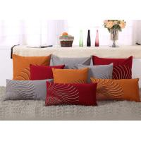 100% Linen Decorative Cushion Covers Free Style Pattern Embroidered Throw Pillows Manufactures