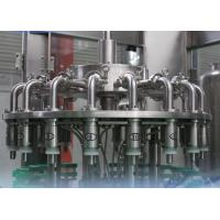 Pet Bottle Automatic Juice Filling Machine 1000 BPH - 8000 BPH For Beverage / Chemical Manufactures