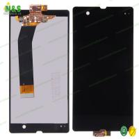 China Black White Color Mobile Phone Lcd Screen Replacement For Sony Xperia Z Display on sale