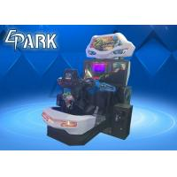 Crazy and Funny Arcade Car Racing Games Machine with Flashing Light Manufactures