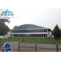 Eco-friendly Outdoor Party Tents , Aluminum Frame 20 X 40M Water Resistance Manufactures