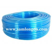 TPU air hose for pneumatic robot, clear blue color, 95A hardness Manufactures