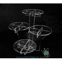 CD (22) wedding cake stand crystal Manufactures