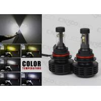 Ultra Bright 9007 LED Automotive Lights , 6000LM Led Vehicle Headlights Manufactures
